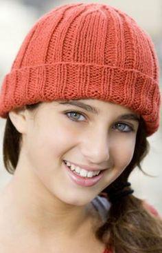 Knit Toboggan Hat, free pattern
