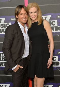 Nicole Kidman and Keith Urban - Arrivals at the CMT Music Awards