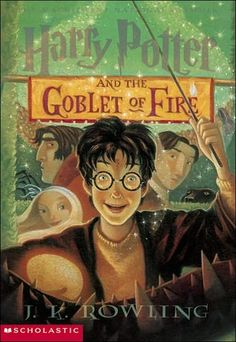 Harry Potter and the Goblet of Fire (Harry Potter, #4) - Harry Potter is midway through his training as a wizard and his coming of age. Harry wants to get away from the pernicious Dursleys and go to the International Quidditch Cup. He wants to find out about the mysterious event that's supposed to take place at Hogwarts this year, an event involving two other rival schools of magic, and a competition that hasn't happened for a hundred years.