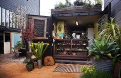 A Shipping Container Shop: Lila B. Floral Design in San Francisco, California | Remodelista