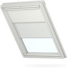 VELUX duo blackout blinds - pleated and blackout blind combined