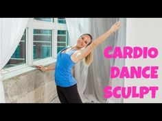 Cardio Dance Sculpt. 1.01.04  Jessica Smith. Prepare to sweat buckets with this one. She uses cardio and weights the entire time.