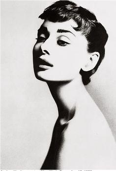 Audrey Hepburn by Richard Avedon, 1953
