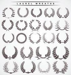 laurel wreaths