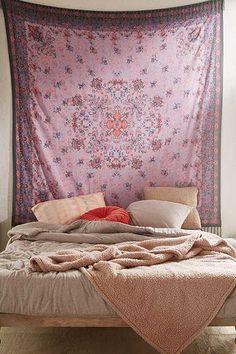 "Wandbehang ""Petra"" im Folklore-Design mit Fransen"