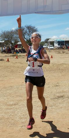 Wow - amazing story about a 13-year-old girl who just ran a marathon (her 2nd) in Africa and is training for the 2018 winter Olympics.