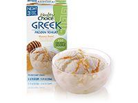 Greek Frozen Yogurt - A Low-Fat Frozen Yogurt - Healthy Choice