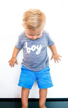 Boy Tee – Ily Couture
