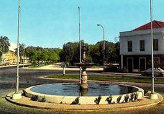 Largo Marechal Carmona na década de 1980 - Rio Maior   Portugal