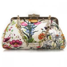 Floral evening bag - GUCCI