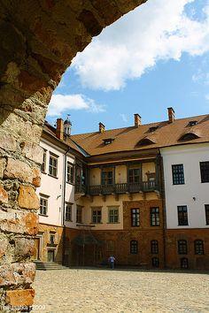 UNESCO World Heritage Site.                                  Mir Castle Complex.  BELARUS