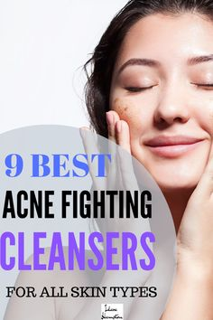 Looking for a cleanser tough enough to fight acne, but gentle enough to not irritate your skin? Check out this list of 9 of the best cleansers for acne prone skin. Whether your skin is sensitive, dry, oily, or if you have large pores, there's a cleanser for you. #acnecleansers #acneproducts #acnetips #acneoilyskin #acnedryskin #acnecombinationskin Soap For Oily Skin, Cleanser For Oily Skin, Face Cleanser, Sensitive Acne Prone Skin, Oily Face, Oily Skin Routine, Skincare Routine, Best Acne Cleanser, Hormonal Acne