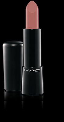 MAC Cosmetics: Mineralize Rich Lipstick in Pure Pout --- the nude lip done well ---