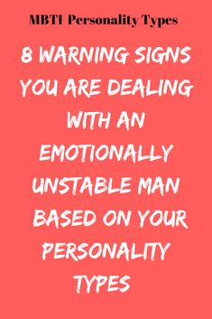 signs of emotional instability