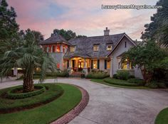 Kiawah Island English Country Home & Garden Retreat in Cassique