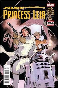 *High Grade* (W) Mark Waid (A/CA) Terry Dodson • Leia's mission leads to the underground world of Sullust! • The Empire's forces are on her trail and gaining! • Join the galaxy's toughest Princess on