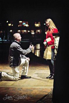 A secret proposal!  Laura Shankel Photography