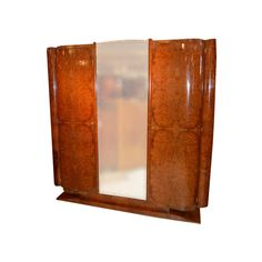 French Art Deco Armoire | From a unique collection of antique and modern wardrobes and armoires at http://www.1stdibs.com/furniture/storage-case-pieces/wardrobes-armoires/