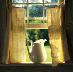 open windows, fresh air.....
