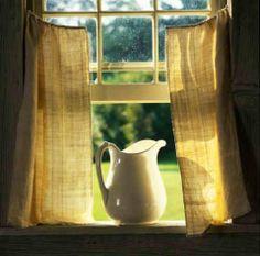 open windows, fresh air.....