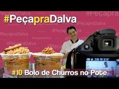 #PeçapraDalva #10 - Bolo de Churros no Pote - Clarissa Amorim - YouTube