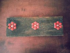 Reclaimed Wood Industrial Coat Rack  Modern  by DesertandIron, $35.00 Steampunk Bathroom, Industrial Coat Rack, Unique Jewelry, Wood, Handmade Gifts, Modern, Vintage, Etsy, Kid Craft Gifts