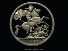 Great Britain - Crown - 1951 - St. George Slaying the Dragon