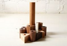 JOINERY   Shapes Candlesticks   LIVING
