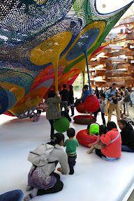 """Amazing crocheted 'playground' ("""",)"""