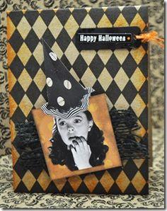 HALLOWEEN CARD; theautocrathaley.blogspot.com