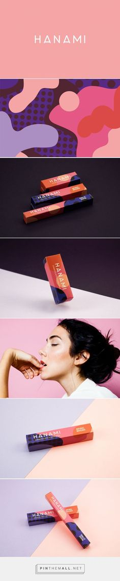 HANAMI Cosmetic Packaging by Eve Warren | Fivestar Branding Agency – Design and Branding Agency & Curated Inspiration Gallery