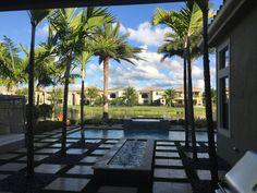 Swimming pool Delray Beach home for sale #delraybeachhomesforsale