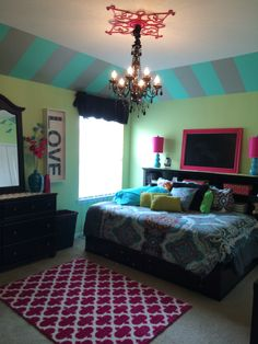 Super fun room for a girl