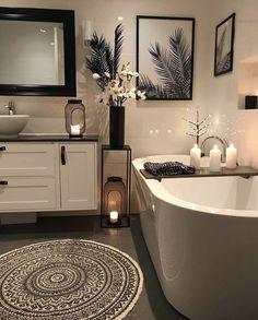 Bathroom decor for your master bathroom renovation. Discover bathroom organization, master bathroom decor ideas, bathroom tile ideas, master bathroom paint colors, and more. Modern Master Bathroom, Bathroom Spa, Bathroom Layout, Small Bathroom, Bathroom Ideas, Bath Ideas, Bathroom Organization, Restroom Ideas, Classic Bathroom