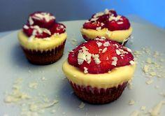 Eve's Kinder-Rezepte: BACKTAG: Erdbeer-Parfait Küsschen