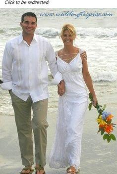 Perfect guys beach wedding attire