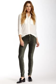 The Sueded Skinny Jean by 7 For All Mankind on @nordstrom_rack