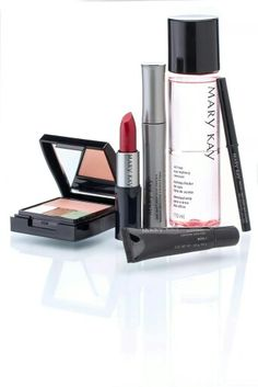 Mary Kay Compact, Concealer, Remover, Mascara, Eyeliner & Lipstick http://www.marykay.com/lisabarber68 Call or text 386-303-2400