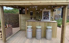 53 Ideas outdoor patio bar man cave for 2019 Outdoor Garden Bar, Garden Bar Shed, Diy Outdoor Bar, Backyard Bar, Garden Yard Ideas, Outdoor Gardens, Bbq Outdoor Area, Bbq Area Garden, Backyard Ideas