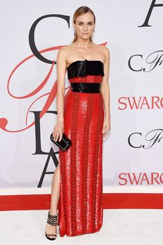 Diane Kruger in a Prabal Gurung dress at the CFDA Awards - click through for the full gallery