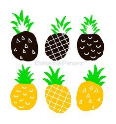 Black pineapple.