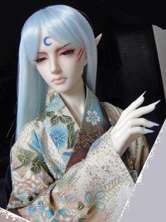 Sesshoumaru by meili melee bjd art doll in kimono