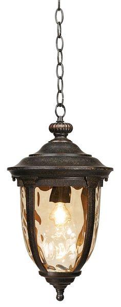 """18"""" High Bronze Outdoor Hanging Light"""