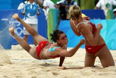 Misty May and Kerri Walsh... this is the reason to play volleyball with passion