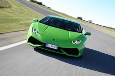 Blog post! We drove the Lamborghini Huracan :D