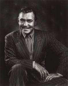 Portrait of Clark Gable by Yousuf Karsh, 1948