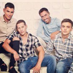 The Hollyoaks guys. Soap Opera Stars, Soap Stars, Kieron Richardson, Tom Daley, Lgbt Love, Hollyoaks, Gay Pride, Ste Hay, Sexy Men