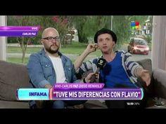 """Reinhold, tras la noche negra de Flavio Mendoza """"Cada uno cosecha lo que..."""