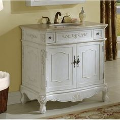 Home Decorators Collection Winslow 33 in. W Bath Vanity in Antique
