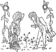 1886 Ingalls Man, Woman, Sunflowers | Flickr - Photo Sharing!